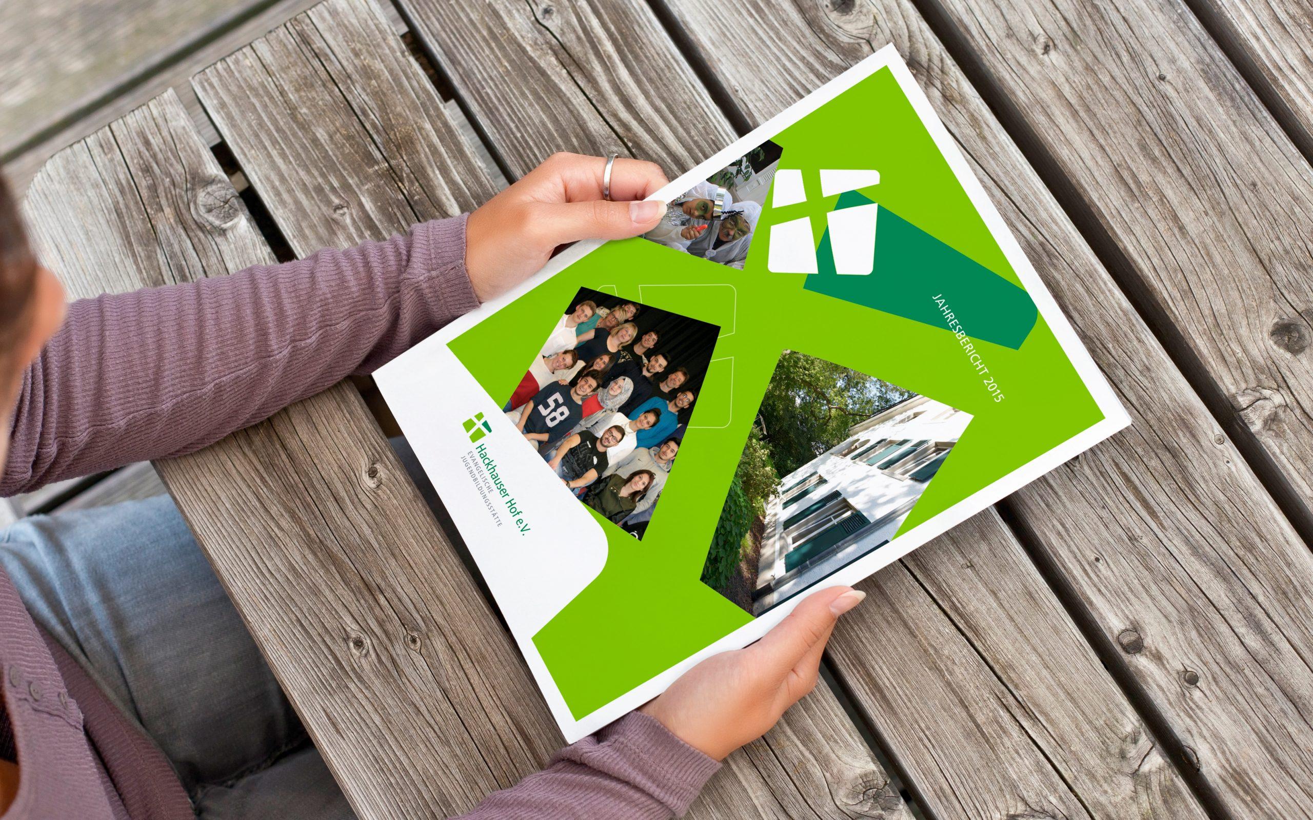 Hackhauser Hof: Corporate Design-Entwicklung von Bosbach, Printmediendesign