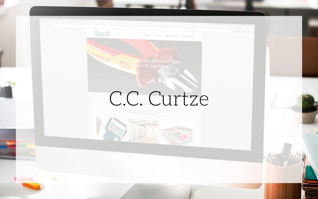 C.C. Curtze (Hagebau): Corporate Design-Entwicklung von Bosbach, Vorschaubild