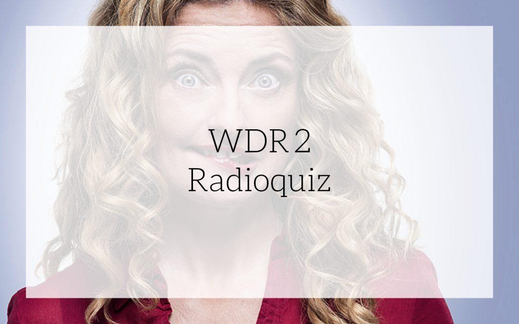 WDR2 Radioquiz: Kommunikationskonzept von Bosbach, Vorschaubild