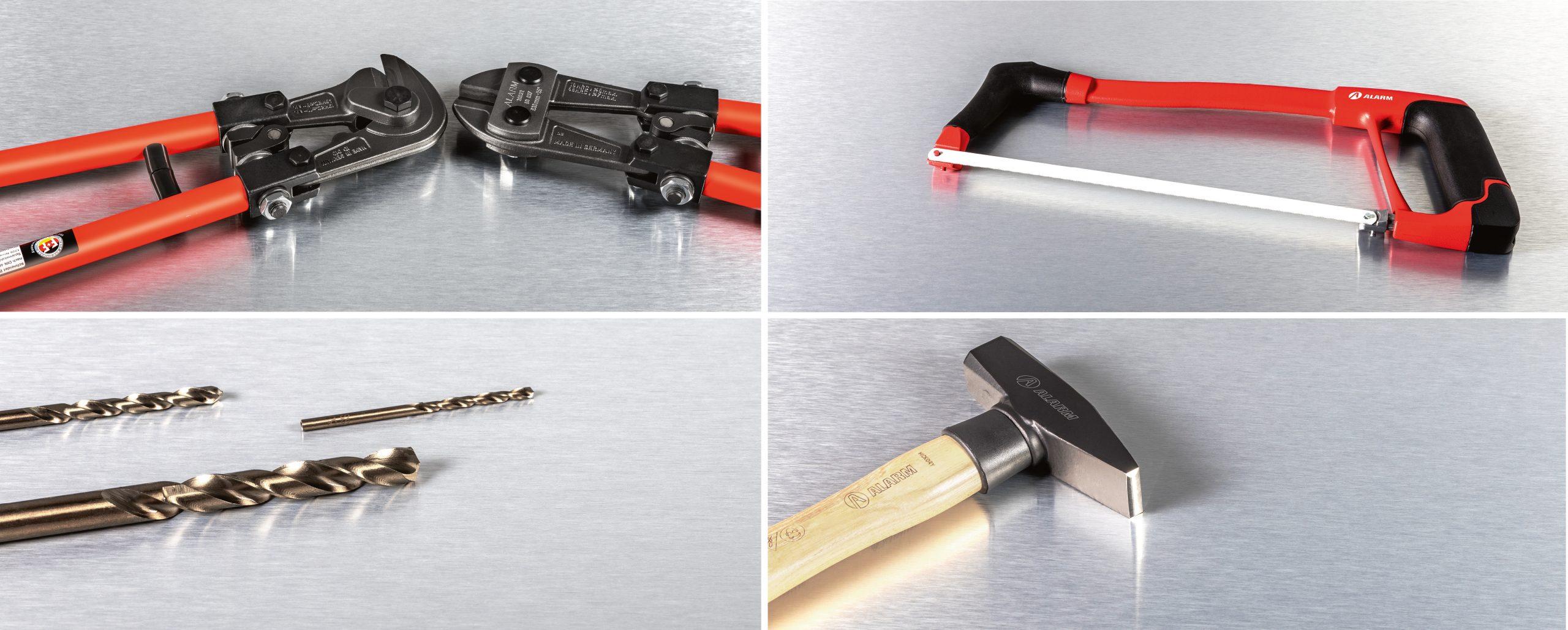 Alarm Werkzeuge: Corporate Design von Bosbach, Fotografie, Bildsprache