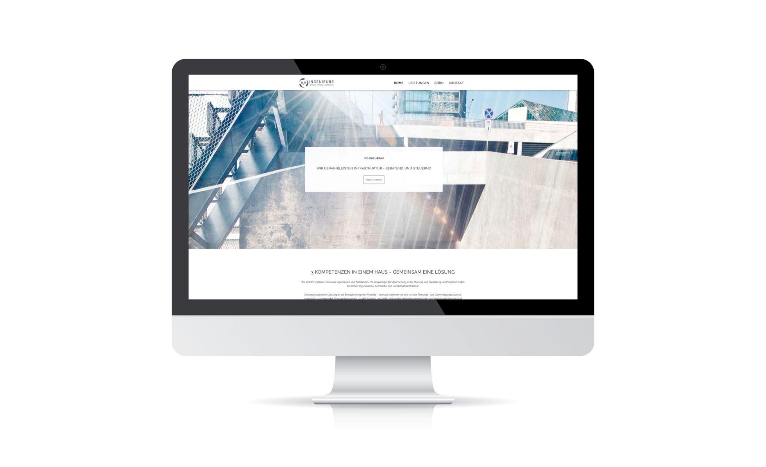 H2R-Ingenieure: Web-Relaunch von Bosbach, Homepage
