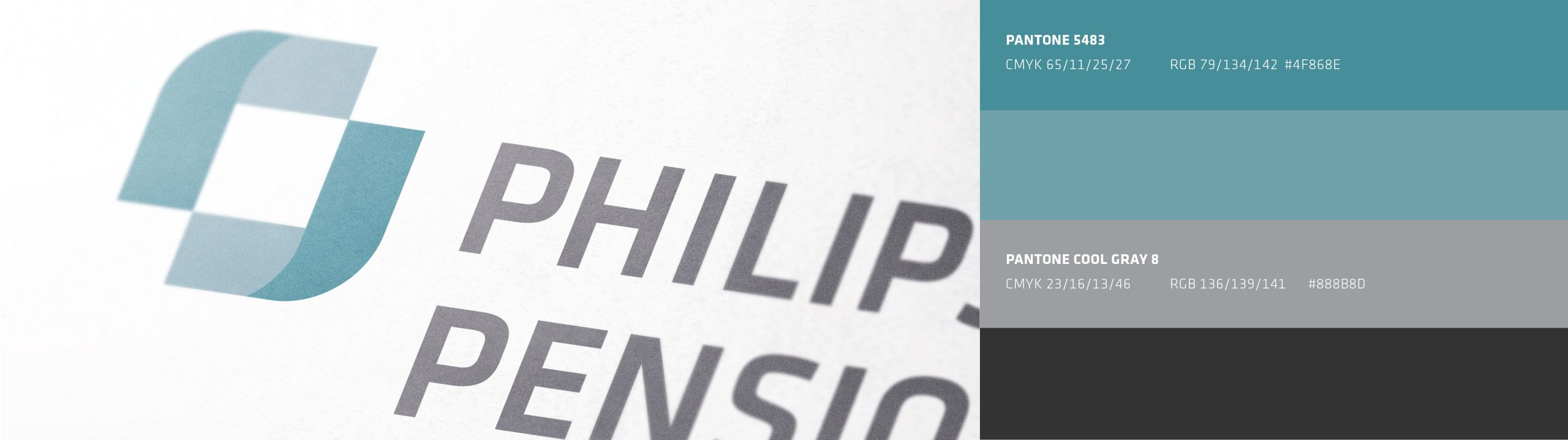 Philips Pensionskasse: CD-Entwicklung von Bosbach, Key Visual