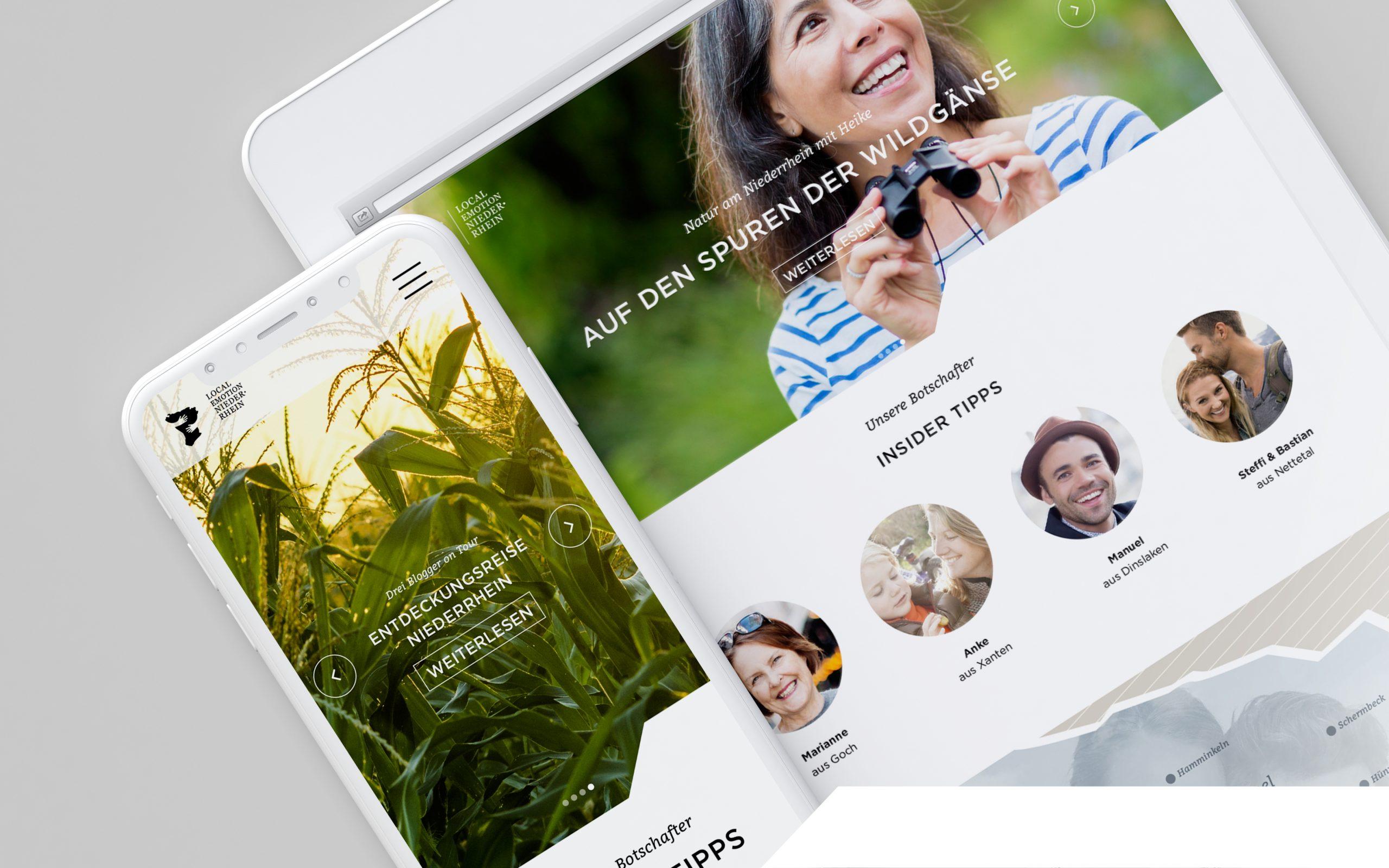 Kommunkationskonzept Kampagnenentwicklung Niederrhein Tourismus Key Visual Bosbach