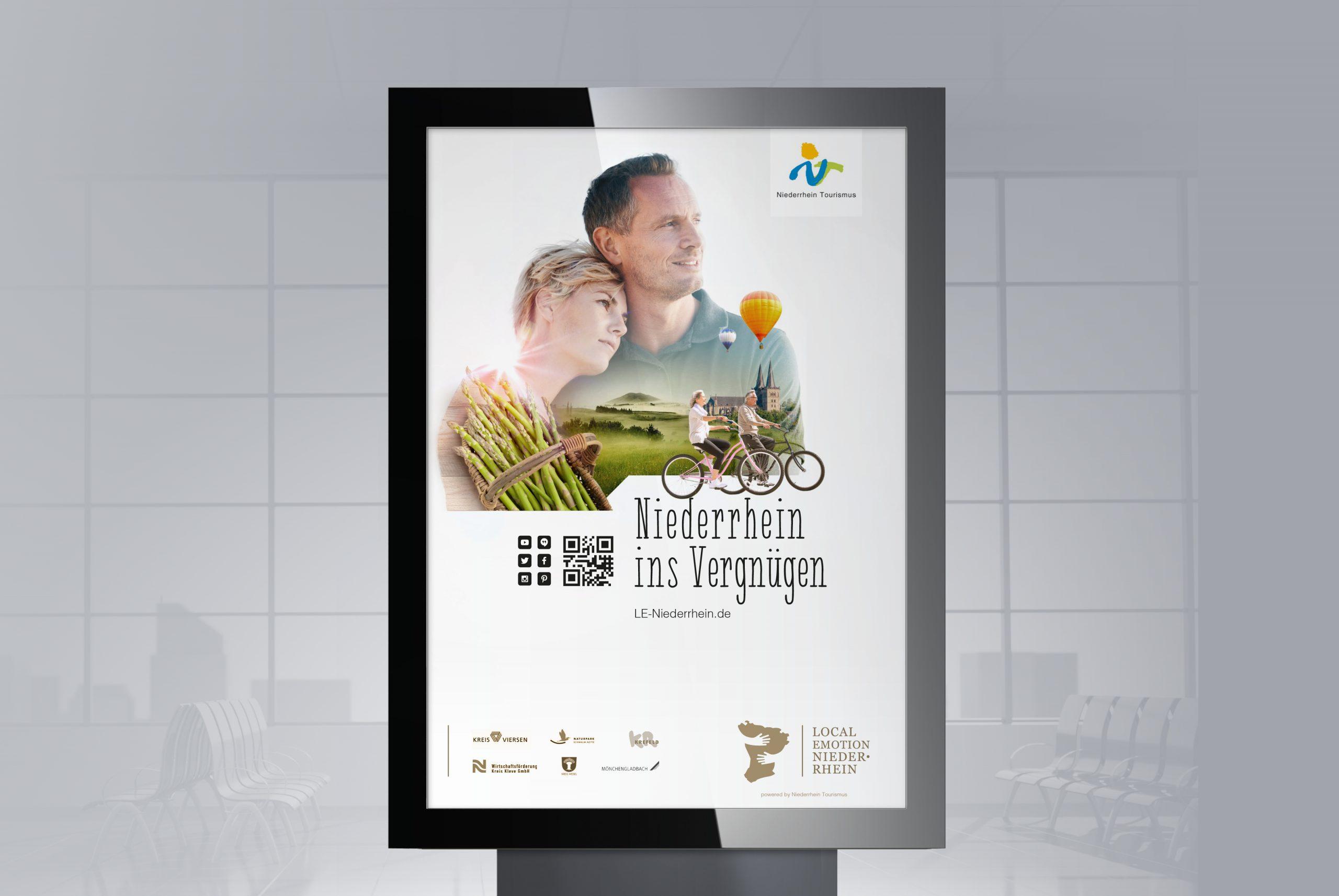 Kampagnen-Entwicklung Key Visual-Entwicklung Niederrhein Tourismus Bosbach