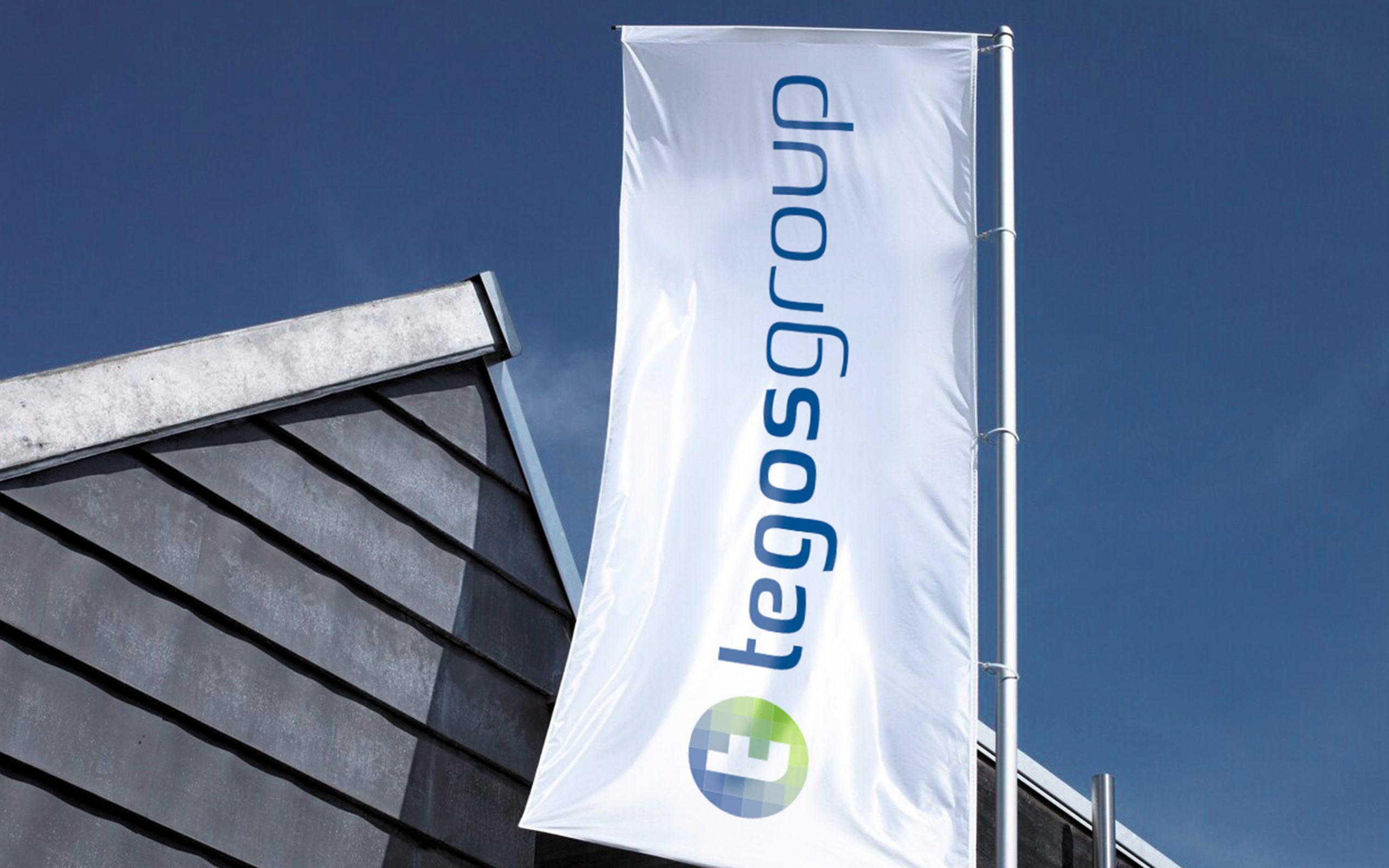Corporate Design-Entwicklung Logo-Entwicklung tegos group Bosbach