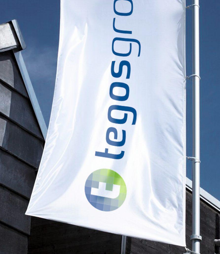 Corporate Design-Entwicklung Logo-Entwicklung tegos group Bosbach Vorschaumotiv