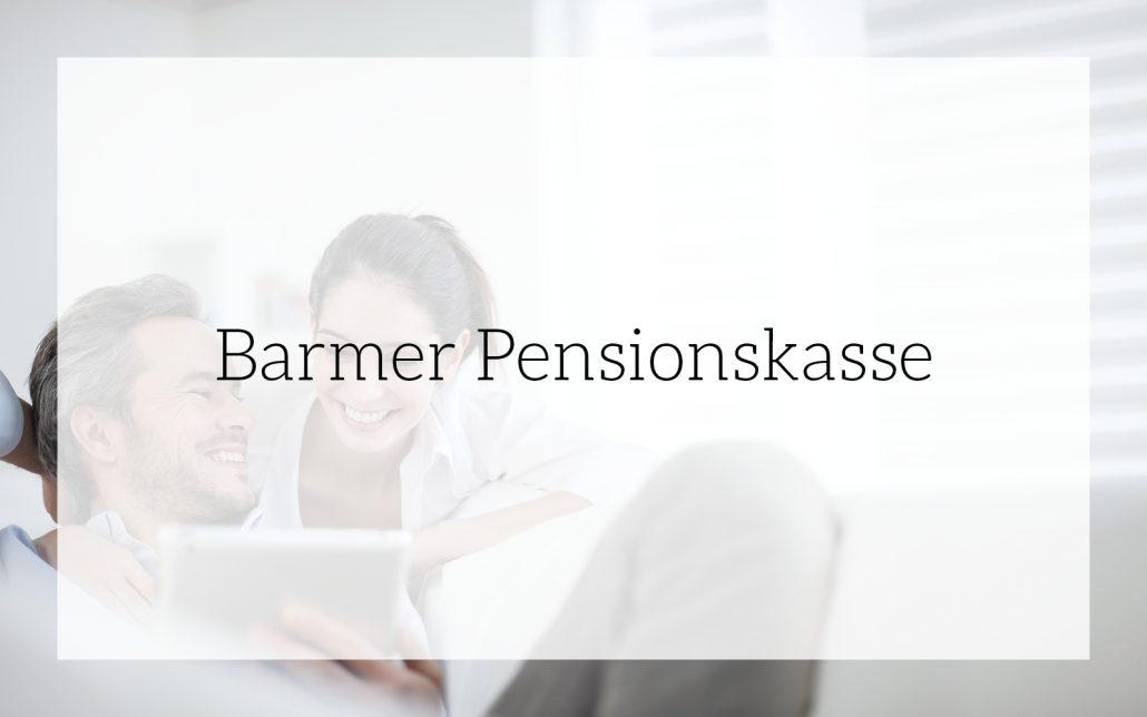 Barmer Pensionskasse: Corporate Design-Entwicklung von Bosbach, Vorschaubild