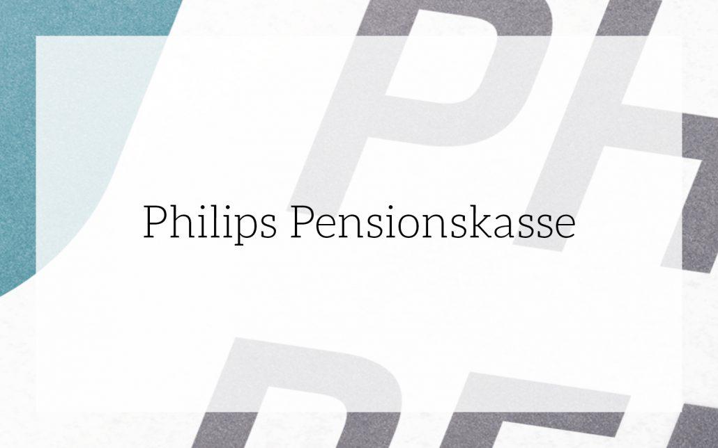 Philips Pensionskasse: CD-Entwicklung von Bosbach, Vorschaubild
